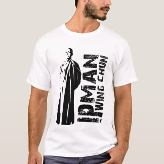 "Grand Master ""Ip Man"" Wing Chun - Kung Fu T-Shirt"