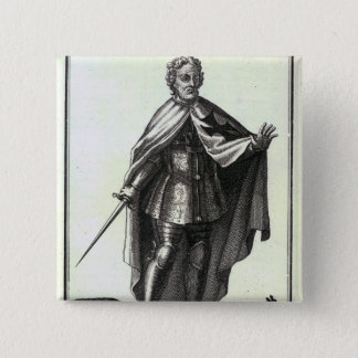 Grand Master of the Teutonic Order 2 Inch Square Button