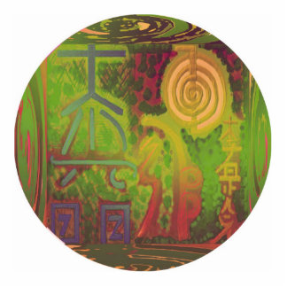 Grand Master - Reiki Photo Sculpture Button