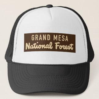 Grand Mesa National Forest Trucker Hat