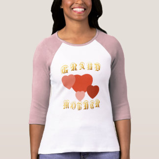 GRAND MOTHER hearts galore T-Shirt