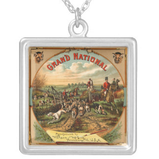 Grand National Watson & McGill Pendent Silver Plated Necklace