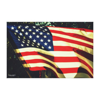 Grand Old Flag Canvas Print