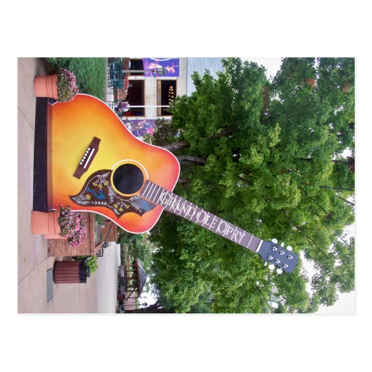 Grand Ole Opry - Photo Taken by Jackie Lynn Bell Postcard