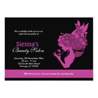 Grand Opening Beauty Salon (Plum) Card