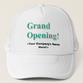 Grand Opening Hat