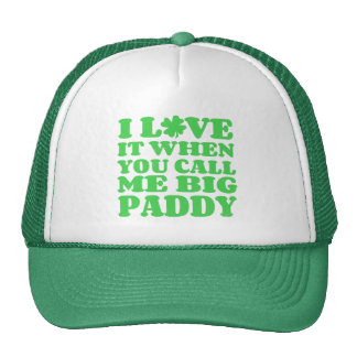 Grand paddy casquettes