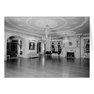 Grand Parlor, Ponce de Leon Hotel, St. Augustine Stationery Note Card
