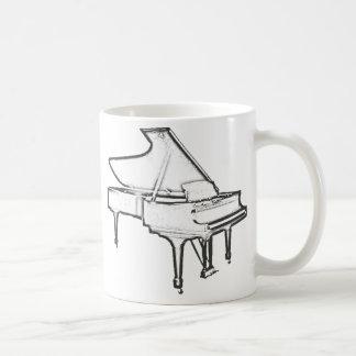 "Grand Piano ""Drawing"" Coffee Mug"