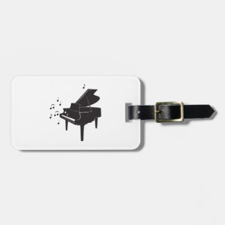 Grand Piano Luggage Tag