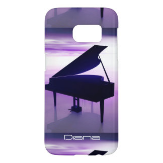 Grand Piano on the Beach Galaxy S7 Case