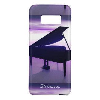 Grand Piano on the Beach Galaxy S8 Case