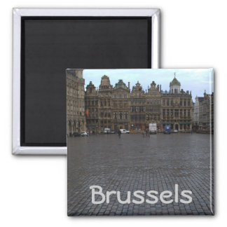 Grand Place, Brussels Square Magnet