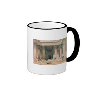 Grand Portico of the Temple of Philae, Nubia Coffee Mug