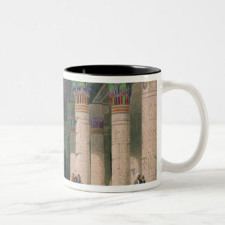Grand Portico of the Temple of Philae, Nubia Coffee Mugs
