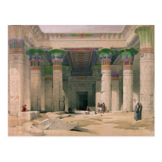Grand Portico of the Temple of Philae, Nubia Postcard