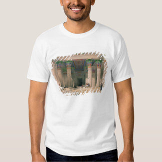Grand Portico of the Temple of Philae, Nubia Tee Shirts