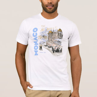 Grand Prix de Monaco 1937 - Blue text T-Shirt