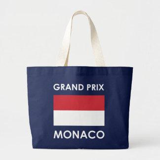 Grand Prix Monaco Large Tote Bag