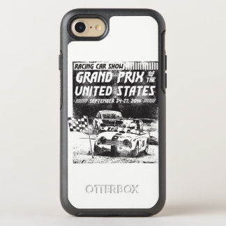 Grand Prix Of The United States Otterbox Phone Cas OtterBox Symmetry iPhone 8/7 Case