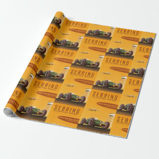 Grand Prix Racer Wrapping Paper
