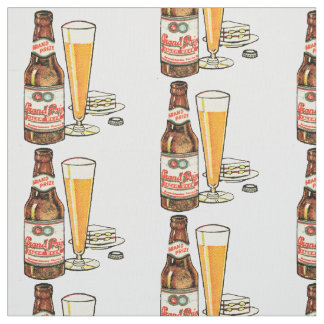 Grand Prize Lager Beer Fabric