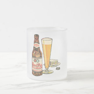 Grand Prize Lager Beer Frosted Glass Coffee Mug