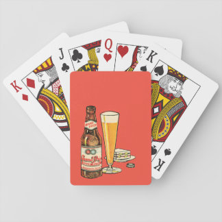 Grand Prize Lager Beer Playing Cards