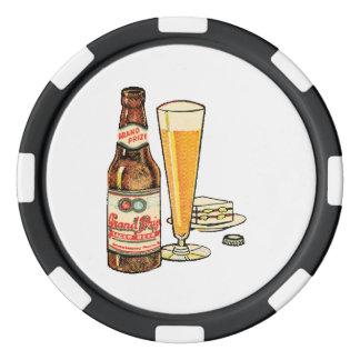 Grand Prize Lager Beer Poker Chips