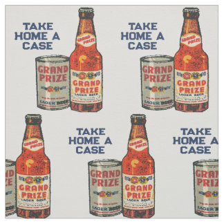 Grand Prize Lager Beer Take Home A Case Fabric