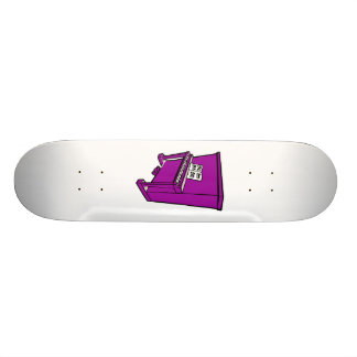 grand purple upright piano with music.png custom skateboard