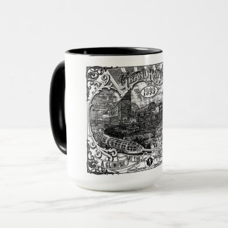 Grand Rapids 1999 Artwork Coffee Mug