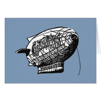 Grand Rapids Dirigible Greeting Card