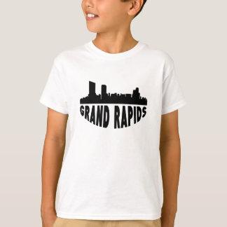 Grand Rapids MI Cityscape Skyline T-Shirt