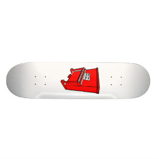 grand red upright piano with music.png custom skateboard