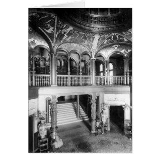 Grand Rotunda, Ponce de Leon Hotel, St. Augustine Stationery Note Card