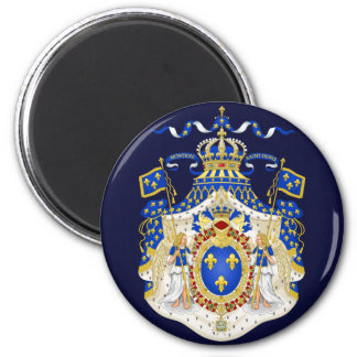 Grand Royal Coat of Arms of France Magnet