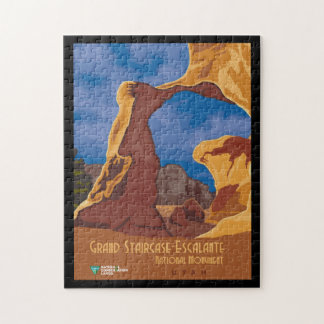 Grand Staircase Escalante National Monument Utah Jigsaw Puzzle