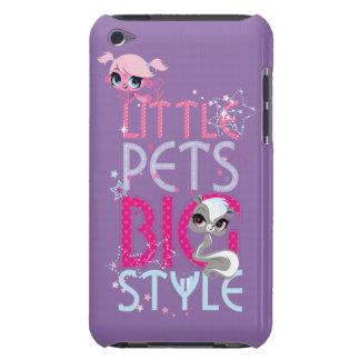 Grand style 1 de petits animaux familiers étui iPod touch