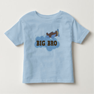 Grand T-shirt vintage de frère de garçons d'avion