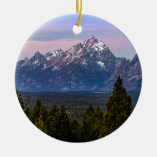 Grand Teton Ceramic Ornament