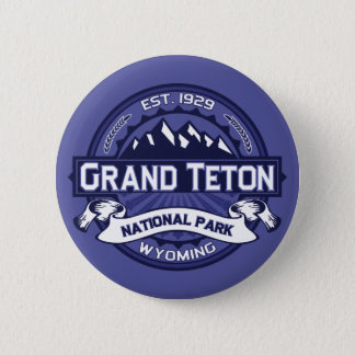 Grand Teton Midnight 2 Inch Round Button