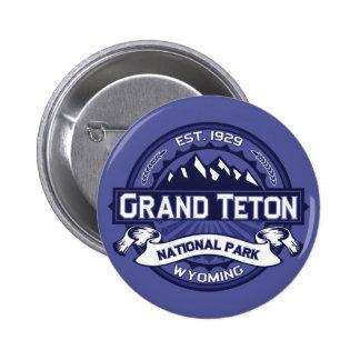 Grand Teton Midnight 2 Inch Round Button