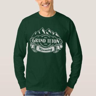 Grand Teton Mountain Emblem White T-Shirt