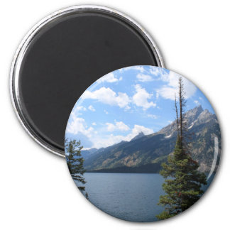 Grand Teton National Park 2 Inch Round Magnet