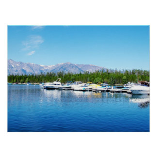 Grand Teton National Park landscape photography Poster