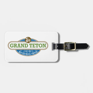 Grand Teton National Park Luggage Tag