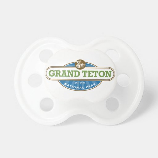 Grand Teton National Park Baby Pacifiers