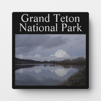 Grand Teton National Park Plaque