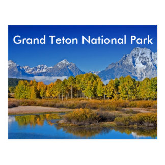 Grand Teton National Park Series 3 Postcard